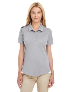 Ladies 3-Stripes Shoulder Polo-