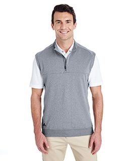 Mens Quarter-Zip Club Vest-adidas Golf