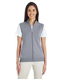 Ladies Full-Zip Club Vest-adidas Golf