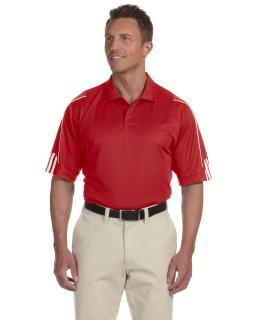 Mens Climalite 3-Stripes Cuff Polo-adidas Golf