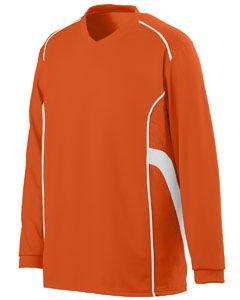 Youth Winning Streak Long-Sleeve Jersey-Augusta Sportswear