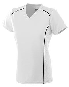Ladies Wicking Polyester Short-Sleeve T-Shirt-Augusta Sportswear