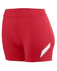 Ladies Wicking Poly/Span Short-