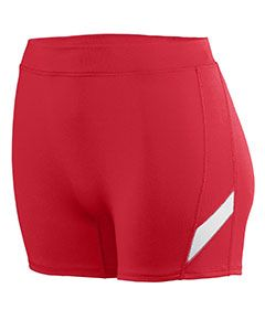 Girls Wicking Poly/Span Short-