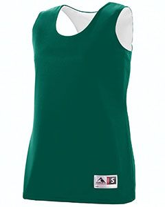 Ladies Wicking Polyester Reversible Sleeveless Jersey-