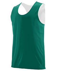 Adult Wicking Polyester Reversible Sleeveless Jersey-Augusta Sportswear