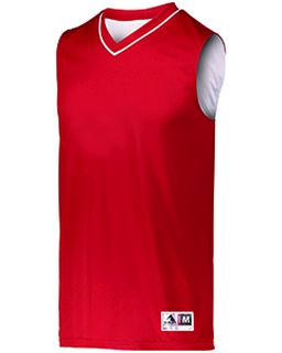 Youth Reversible Two-Color Sleeveless Jersey-Augusta Sportswear