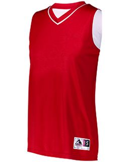 Ladies Reversible Two-Color Sleeveless Jersey-