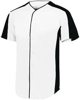 Adult Full-Button Baseball Jersey-