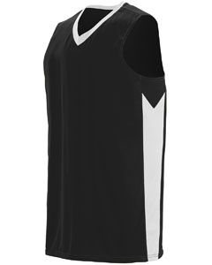 Adult Block Out Jersey-Augusta Sportswear