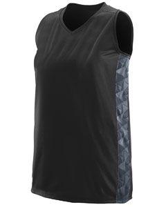 Girlss Fast Break Racerback Jersey-Augusta Sportswear