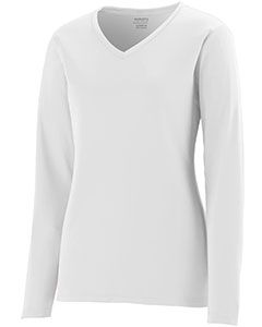 Ladies Wicking Long-Sleeve T-Shirt-