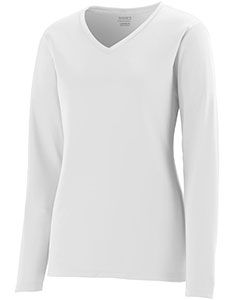 Girls Wicking Long-Sleeve T-Shirt-