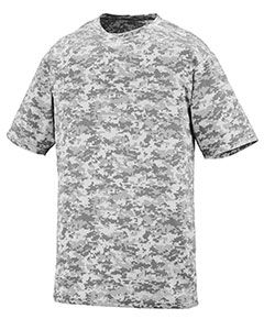 Adult Digi Camo Wicking Short-Sleeve T-Shirt-Augusta Sportswear