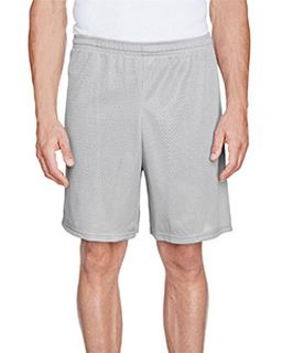 Adult Longer Length Tricot Mesh Short-