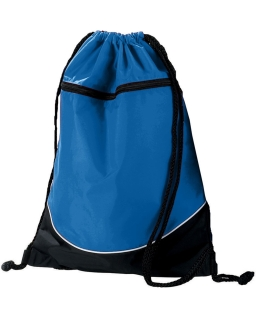 Tri-Color Drawstring Backpack-