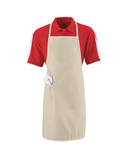 Unisex Long Apron With Pockets-Augusta Sportswear