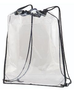 Clear Cinch Sack-Augusta Sportswear