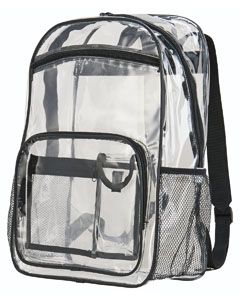 Clear Backpack-Augusta Sportswear