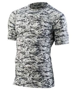 Youth Hyperform Compress Short-Sleeve Shirt-Augusta Sportswear