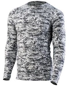 Adult Hyperform Long-Sleeve Compression Shirt-