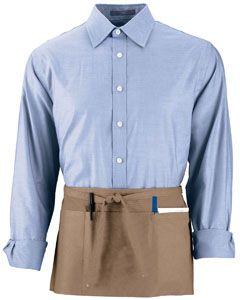Adult Cafe Waist Apron-Augusta Sportswear
