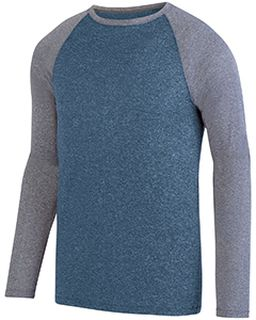 Adult Kinergy Two-Color Long-Sleeve Raglan T-Shirt-