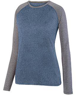 Ladies Kinergy Two-Color Long-Sleeve Raglan T-Shirt-