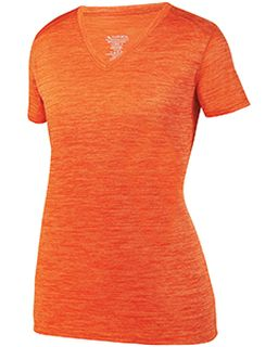 Ladies Shadow Tonal heather Short-Sleeve Training T-Shirt-
