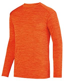 Adult Shadow Tonal heather Long-Sleeve Training T-Shirt-