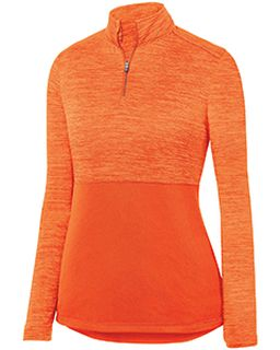 Ladies Shadow Tonal Heather 1/4 Zip Pullover-