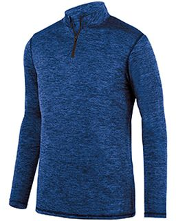 Adult Intensify Black Heather Quarter-Zip Pullover-