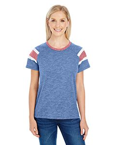 Ladies Fanatic Short-Sleeve T-Shirt-Augusta Sportswear