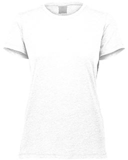 Ladies 3.8 Oz., Tri-Blend T-Shirt-Augusta Sportswear