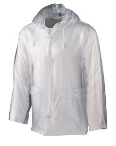 Adult Clear Rain Jacket-