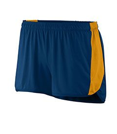 Ladies Wicking Poly/Span Short With Inserts-