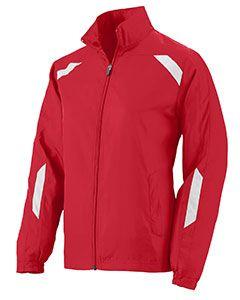 Ladies Water Resistant Micro Polyester Jacket-Augusta Sportswear