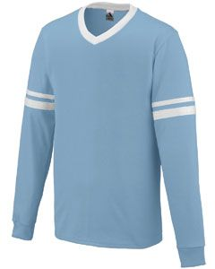 Adult Long-Sleeve Stripe Jersey-Augusta Sportswear