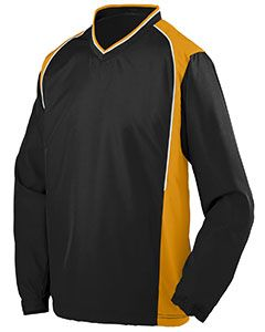 Adult Water Resistant Polyester Diamond Tech V-Neck Pullover-Augusta Sportswear