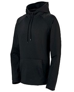 Adult Wicking Brushed Back Poly/Span Hoody-