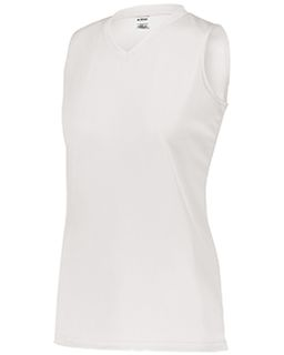 Ladies Sleeveless Wicking Attain Jersey-