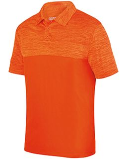 Adult Shadow Tonal heather Polo-Augusta Sportswear