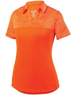 Ladies Shadow Tonal heather Polo-Augusta Sportswear