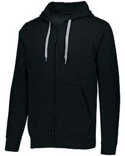 Adult 60/40 Fleece Full-Zip Hooded Sweatshirt-Augusta Sportswear