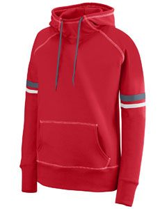 Ladies Spray Hoodie-Augusta Sportswear