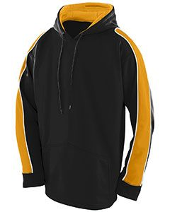 Adult Wicking Polyester Fleece Hoody-Augusta Sportswear