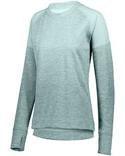 Ladies Zoe Tonal Heather Pullover-