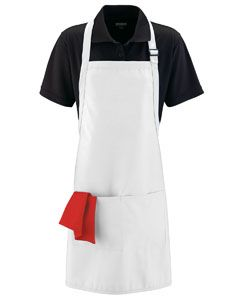 Adult Full Width Apron With Pockets-