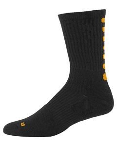 Adult Colorblock Crew Sock (10-13)