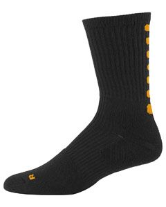 Adult Xl Colorblock Crew Sock (13-15)